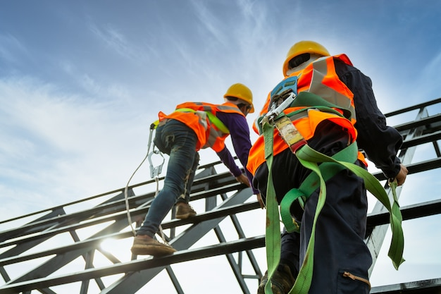 Construction de corps de sécurité, équipement de travail en hauteur