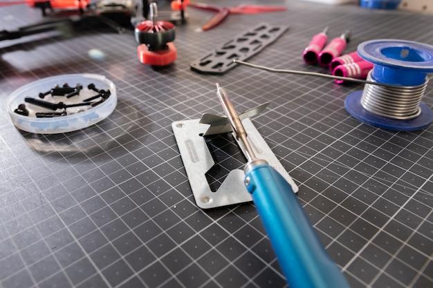 Construction de drones de course fpv