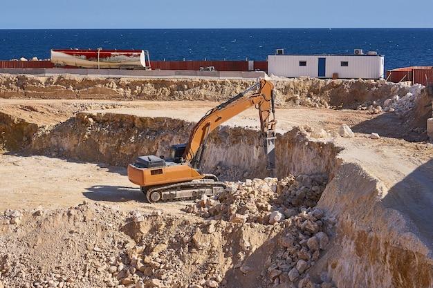 Construction gelée pendant la crise économique à malte