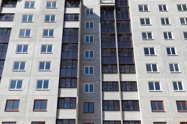 Construction d'immeubles à appartements
