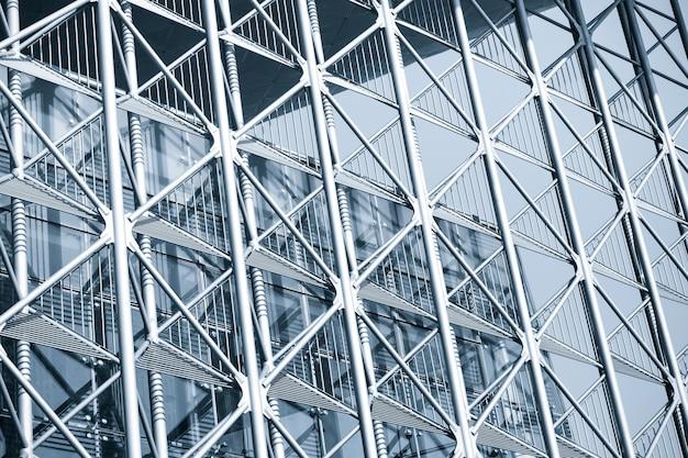 Construction moderne immeuble de bureaux