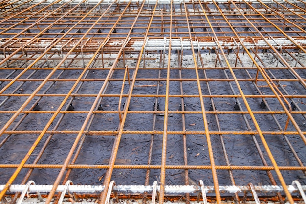 Construction d'un nouveau bâtiment, liaison de renforcement