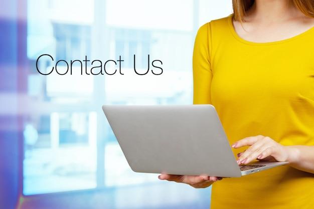 Contactez nous concept
