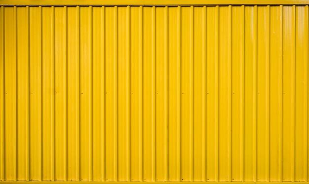 Contenant de la boîte jaune rayé ligne texturé
