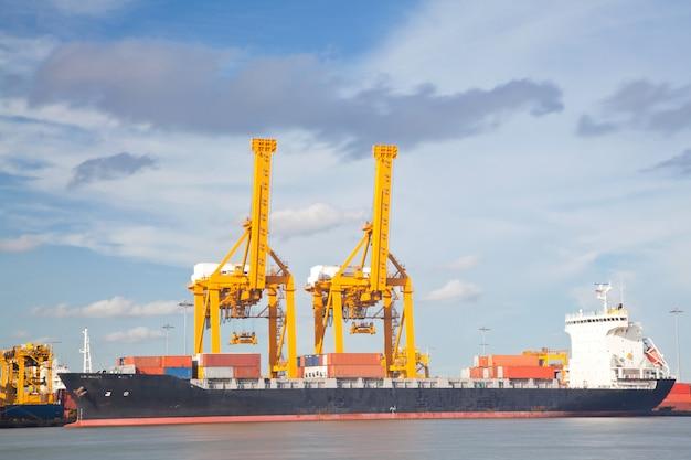 Conteneur fret cargo navire industrail