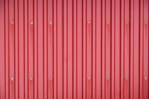 Conteneur de fret rouge ligne ligne texture fond