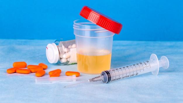 Conteneur d'urine