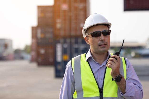 Conteneurs de chargement de contrôle de contremaître fort du navire de fret pour l'importation et l'exportation, transpor