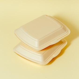 Conteneurs de restauration rapide. conception minimale