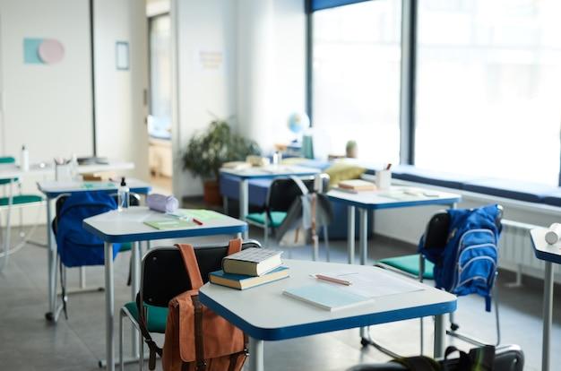 Contexte de la classe de l'école
