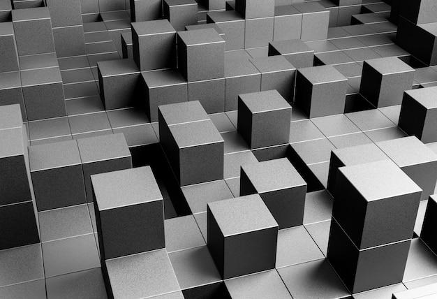 Contexte créatif avec des formes géométriques