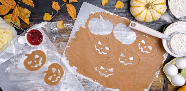 Contexte dans le style de la fête d'halloween
