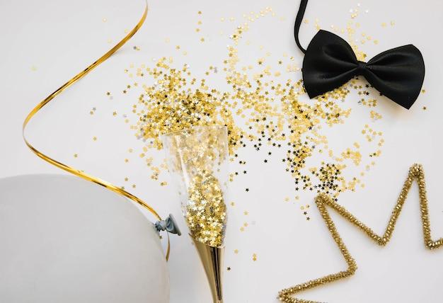 Contexte décoratif de nouvel an
