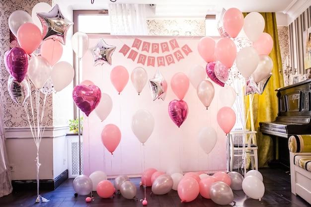 Contexte festif pour anniversaire