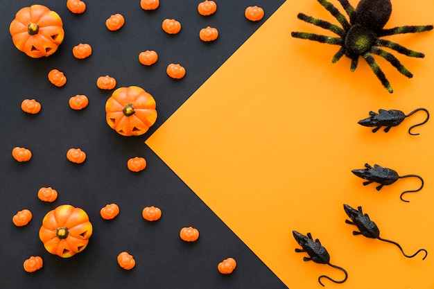 Contexte halloween décoratif
