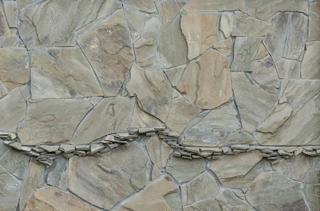 Contexte de la pierre naturelle de différentes tailles