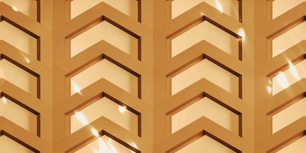 Contexte de la science et de la technologie illustration 3d hexagonale abstraite