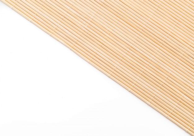 Contexte de la surface de bambou du tapis