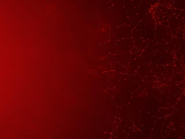 Contexte de la technologie abstraite - points et lignes connectés - effet du plexus