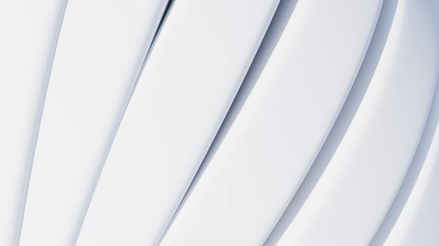 Contexte technologique abstrait. conception d'architecture minimale. papier peint industriel blanc. rendu 3d.
