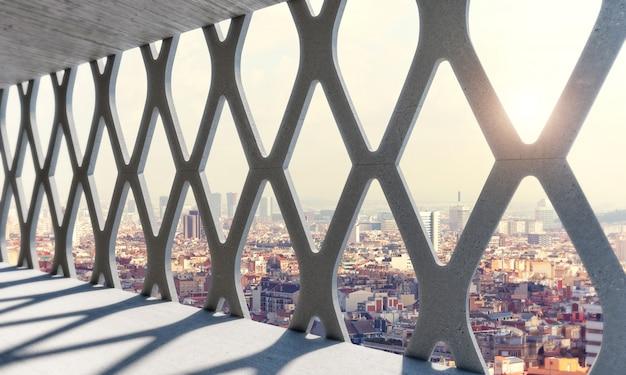 Contexte urbain et structure moderne