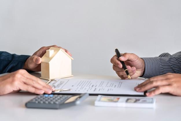 Contrat de vente pour acheter une maison
