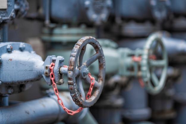 Contrôle de la valve en métal