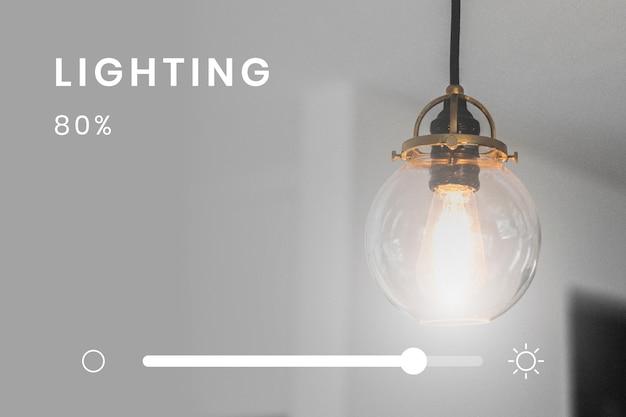Contrôleur de système d'éclairage domestique intelligent