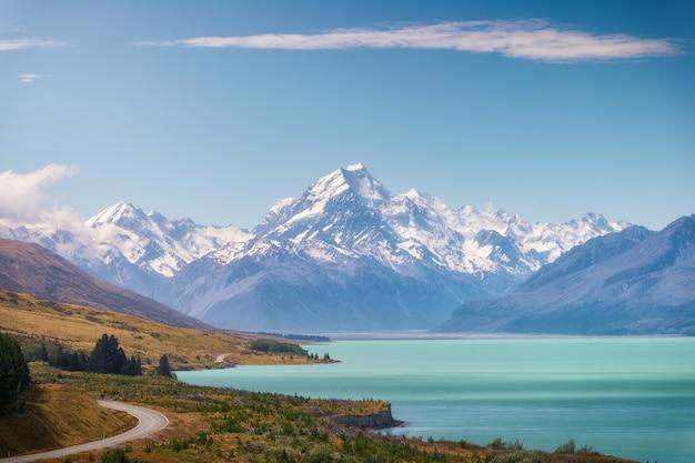 Cook mountain en nouvelle-zélande