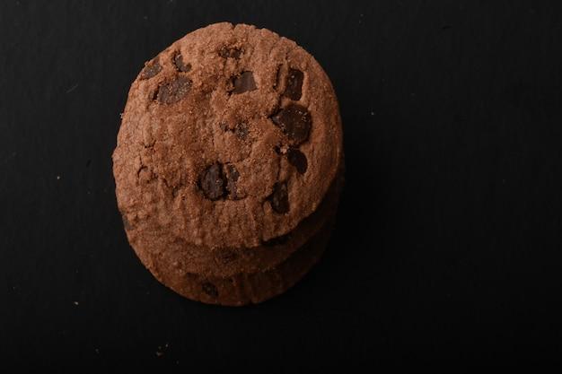 Cookies Au Chocolat Photo Premium