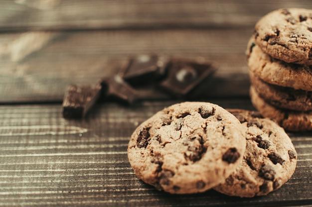 Cookies aux pépites de chocolat frais