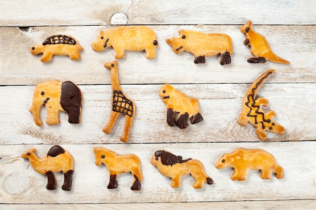 Cookies en forme d'animaux