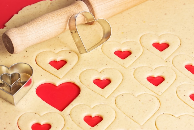 Cookies pour la saint valentin