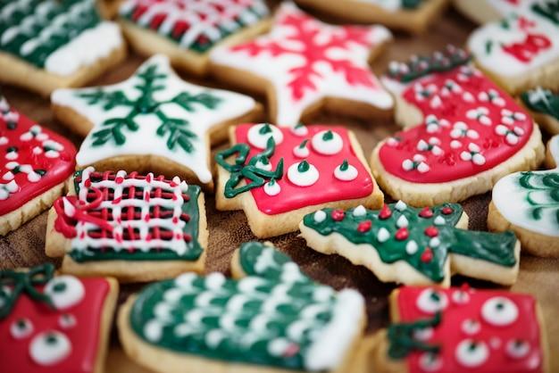 Cookies de thème de noël