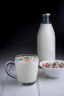 Cookis et lait pour la journée spéciale