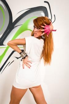 Cool danseur hip-hop
