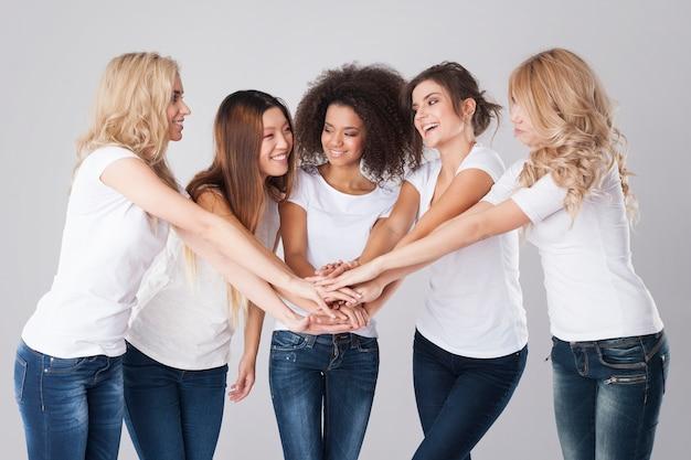 La coopération en équipe apporte toujours des avantages