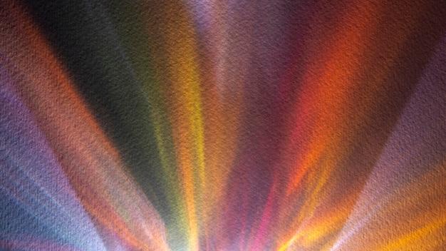 Copie espace prismes lumières abstraites