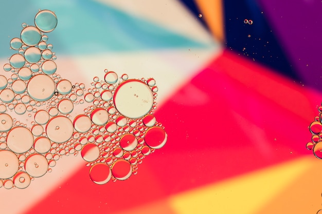 Copier l'espace abstrait coloré