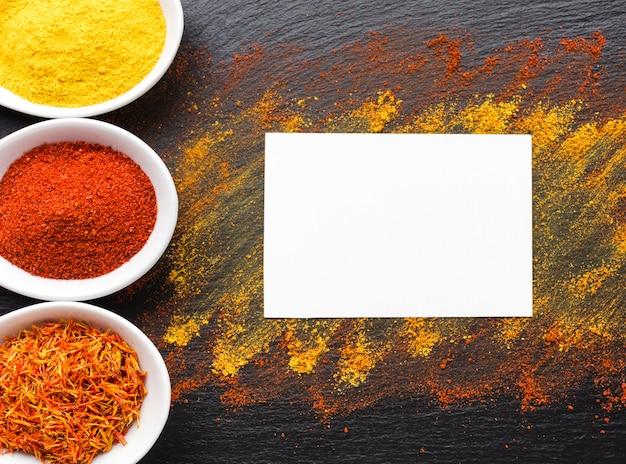 Copier l'espace avec la poudre d'épices