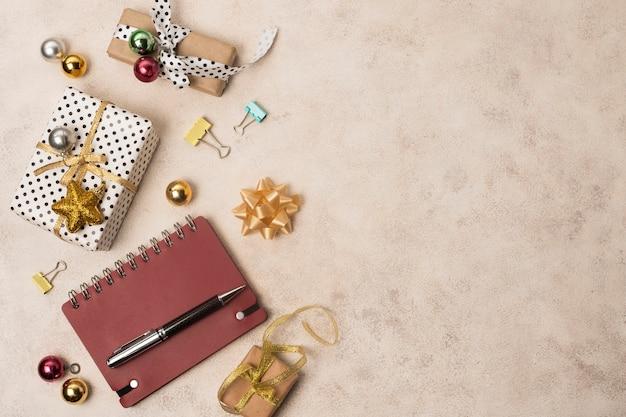 Copier l'espace préparations du nouvel an
