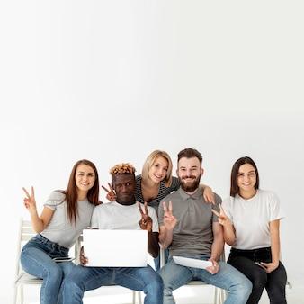 Copier la maquette des amis smiley