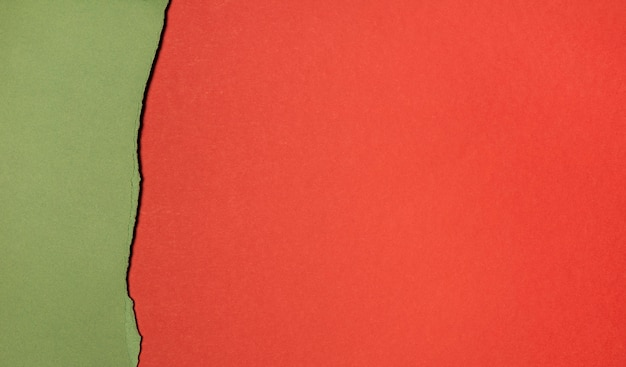 Copiez les couches d'espace de vue de dessus de papier