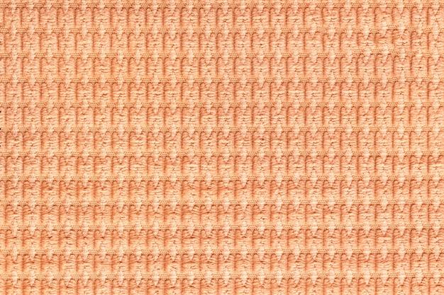 Corail, fond, doux, moelleux, tissu, gros plan, texture, de, textiles, macro,