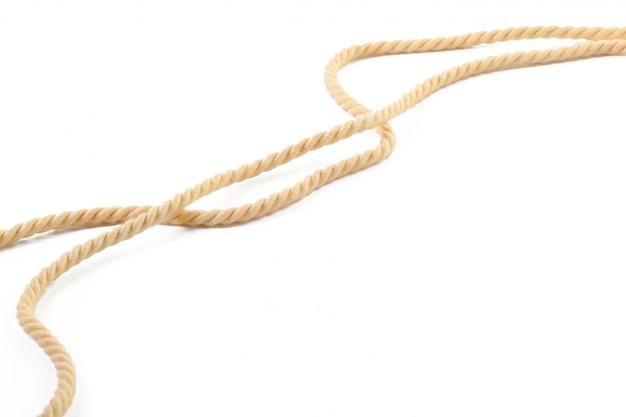 Corde de coton beige