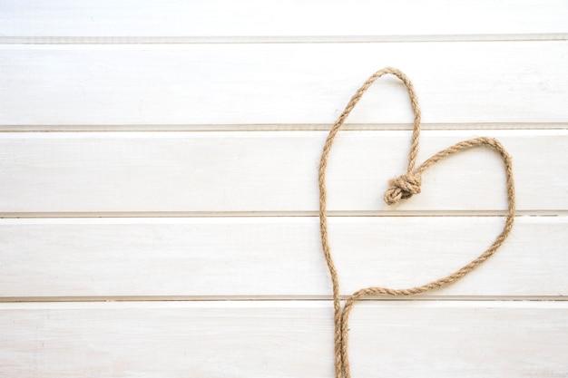 Corde formant le coeur