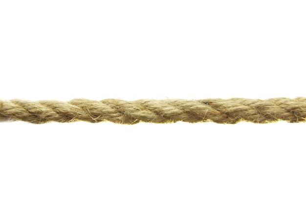 Corde isolé sur fond blanc
