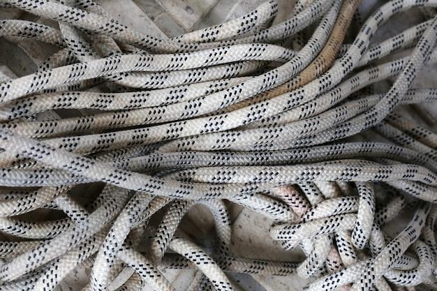 Corde avec moulinet