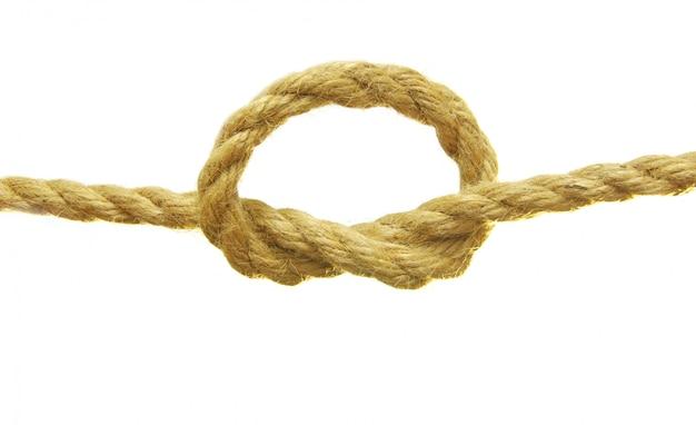 Corde avec un noeud