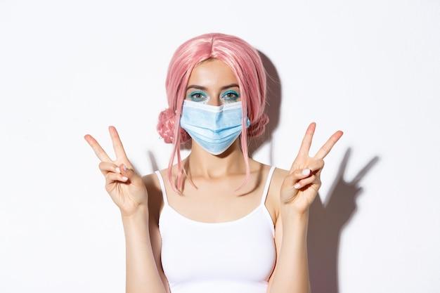 Coronavirus, éloignement social et concept de style de vie.